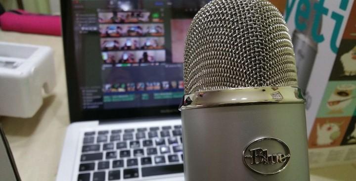 matériel de création d'un podcast