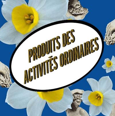 Produits des activités ordinaires