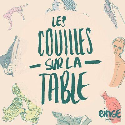 couilles sur la table