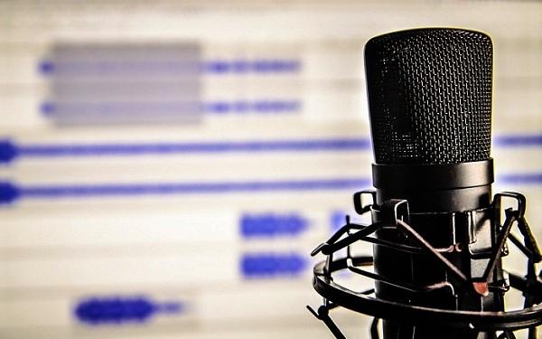 enregistrement du podcast