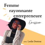femme rayonnante entrepreneure